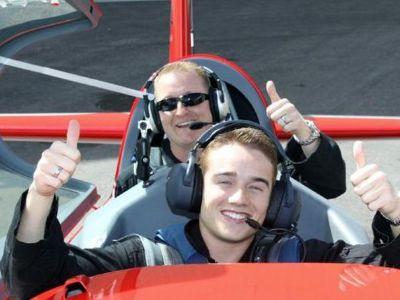 Las Vegas air combat flight