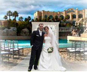 Outdoor wedding venues in las vegas for Texas beach wedding packages