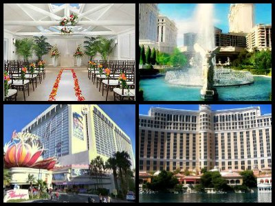 Las Vegas hotel wedding packages