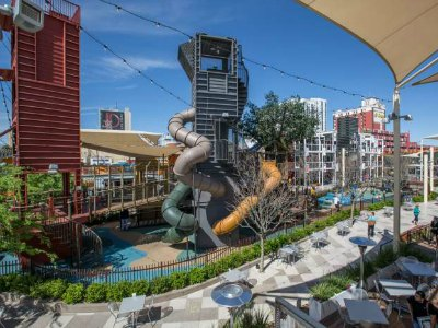 Downtown Container Park in Las Vegas - kids play area