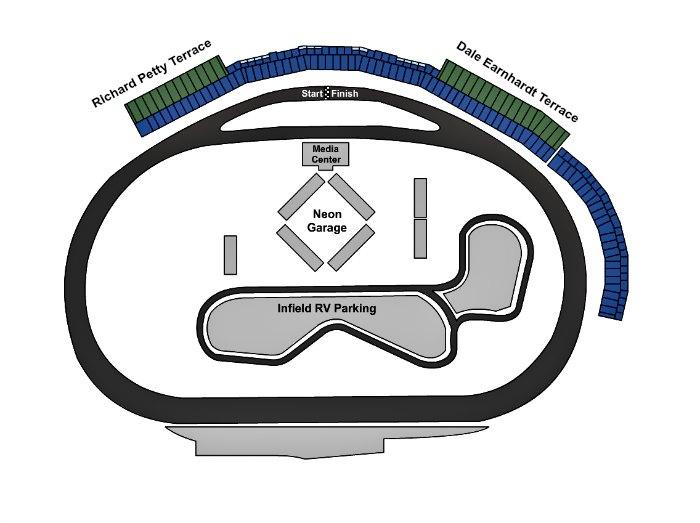 Las vegas motor speedway events in 2018 2019 for Las vegas motor speedway seating map
