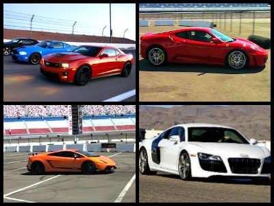 Las Vegas race car rentals
