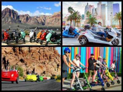 Las Vegas scooter tours