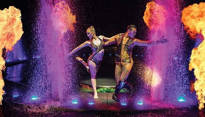 Le Reve - The Dream Show in Las Vegas