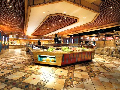 Buffet at the Luxor Hotel in Las Vegas