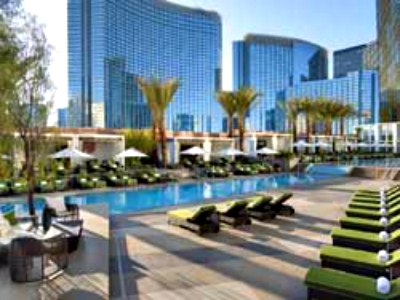 Pools at Mandarin Oriental Hotel in Las Vegas