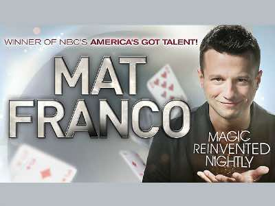 Mat Franco in Las Vegas