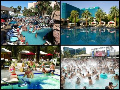 MGM Grand Las Vegas pools