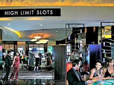 Casino at the Mirage Hotel in Las Vegas