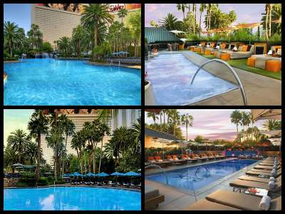 Mirage Las Vegas pools