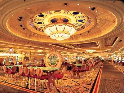 Casino at Monte Carlo Hotel in Las Vegas