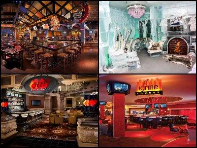 Nightlife at Monte Carlo Hotel in Las Vegas