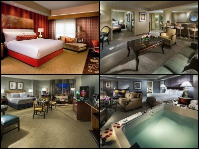 Rooms at Monte Carlo Hotel Las Vegas