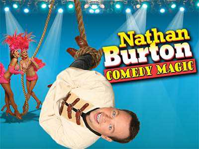 Nathan Burton Comedy Magic Las Vegas