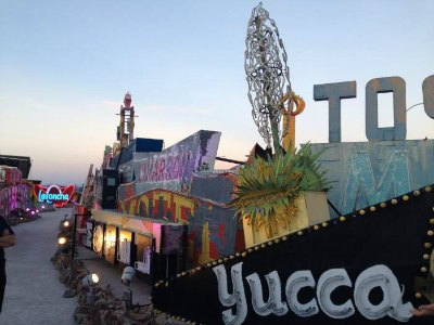 Neon Museum in Downtown Las Vegas