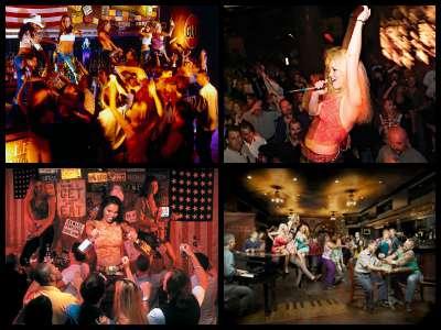 Nightlife in New York New York Hotel in Las Vegas