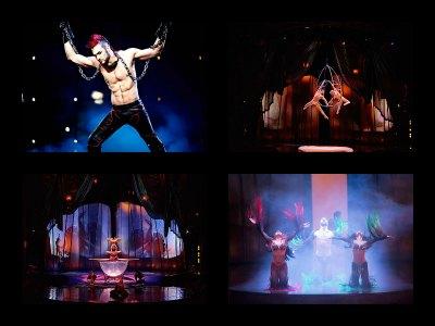 Entertainment in New York New York Hotel in Las Vegas