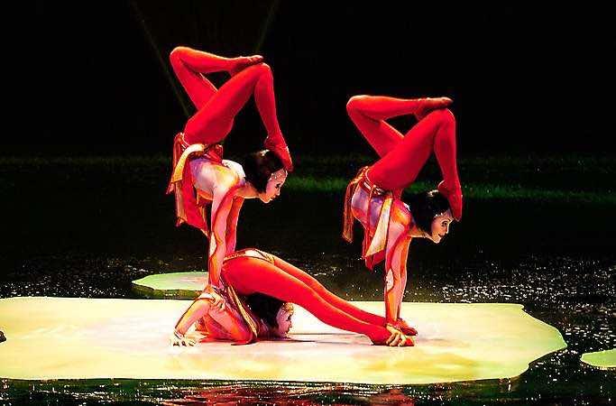 O Cirque du Soleil in Las Vegas