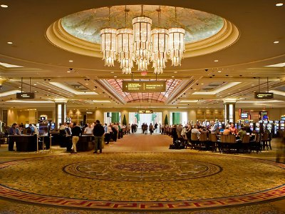 Casino at the Palazzo Hotel in Las Vegas