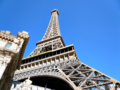 Eiffel Tower Experience at the Paris Hotel in Las Vegas