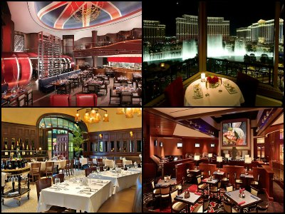 Restaurants at the Paris Hotel in Las Vegas