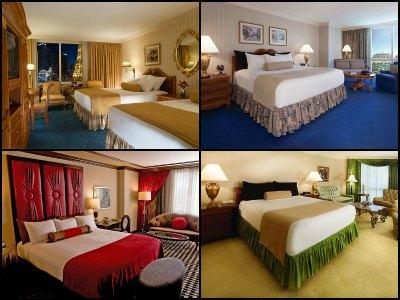 Rooms At The Paris Hotel In Las Vegas