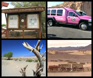 Pink Jeep tours Las Vegas Death Valley