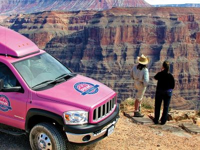 Pink Jeep tours Las Vegas Grand Canyon