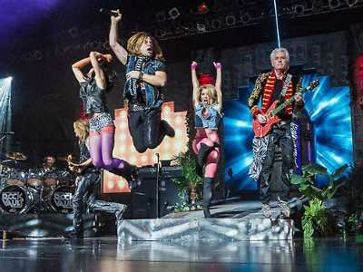 Rock show Las Vegas