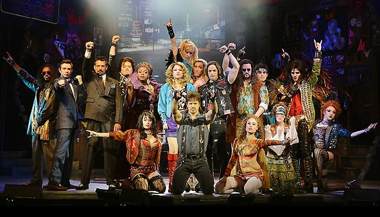 Rock of Ages Show in Las Vegas