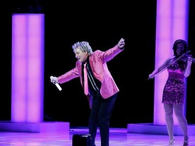Rod Stewart LAs Vegas show