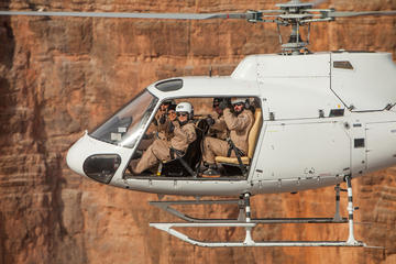 Shooting and Doors-off Helicopter Tour from Las Vegas with Optional ATV Tour in Las Vegas