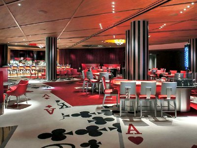 Casino at SLS Hotel in Las Vegas