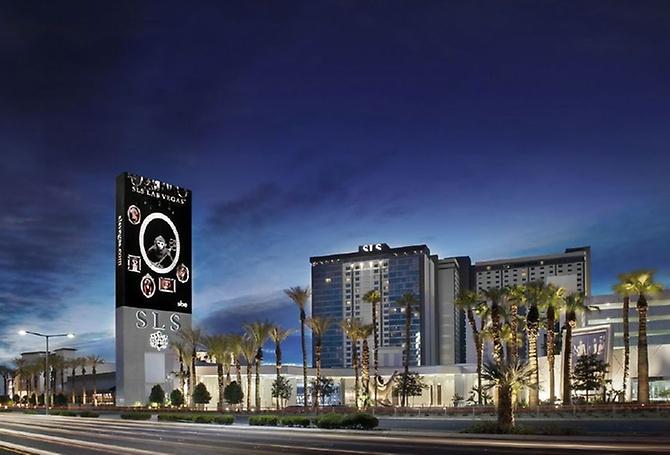 SLS Hotel in Las Vegas