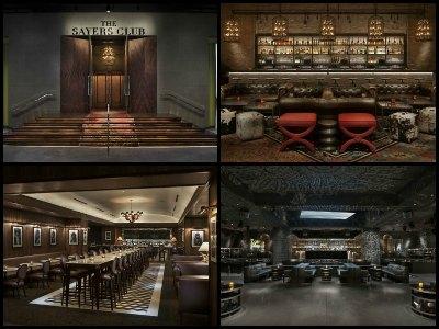 Nightlife at SLS Hotel in Las Vegas