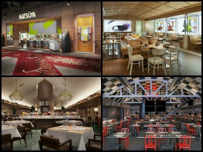 Restaurants at Sahara Hotel in Las Vegas
