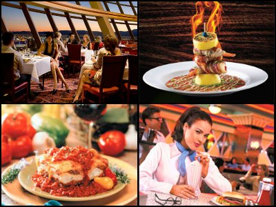 Restaurants in Stratosphere Hotel in Las Vegas