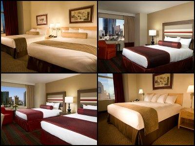 Rooms in Stratosphere Hotel in Las Vegas