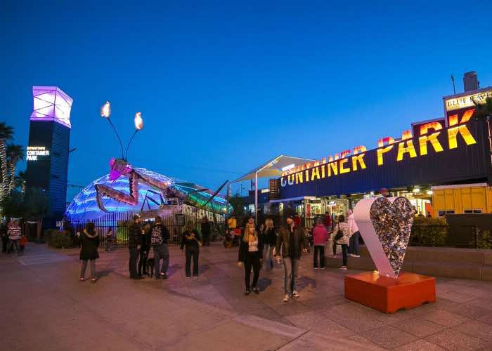 The Mantis at Downtown Container Park<