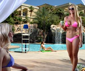 Best topless las vegas pools for Pool and patio show las vegas