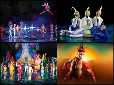 Mystere by Cirque du Soleil at Treasure Island Hotel in Las Vegas