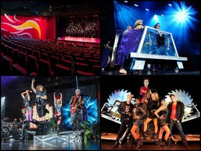 Entertainment at Tropicana Hotel in Las Vegas