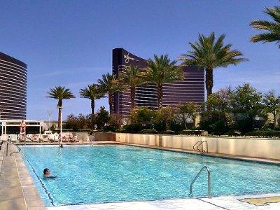 Pools at Trump International Hotel in Las Vegas