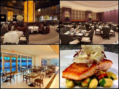 Restaurants at Trump International Hotel in Las Vegas