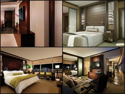 Rooms at Vdara Hotel in Las Vegas