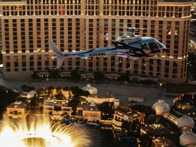 Vegas Night Out VIP Helicopter Strip Flight and Eiffel Tower Dinner