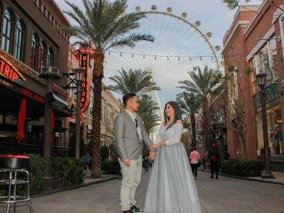 Las Vegas Wedding Ceremony on the High Roller