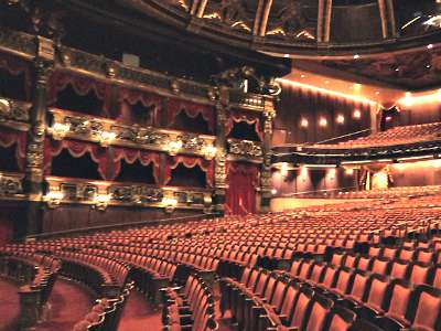 Venetian Theatre in Las Vegas