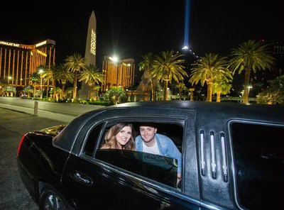 Exclusive Las Vegas Strip by Limo with Personal Photographer