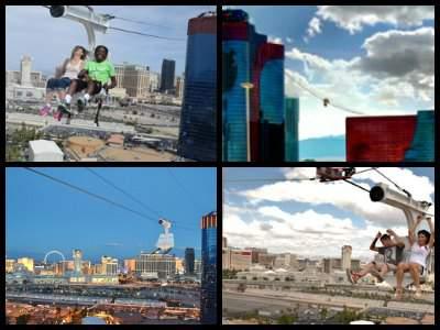 Voodoo zip line Las Vegas